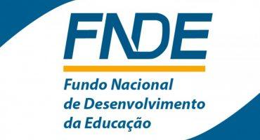 logomarca do Fundo Nacional de Desenvolvimento da Educação