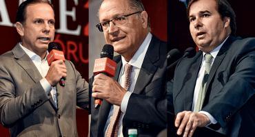 Dória, Alckmin e Maia no Exame Fórum 2018