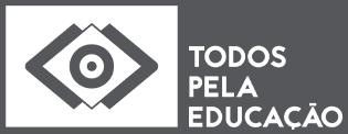 Logotipo Todos pela Educação em preto e branco