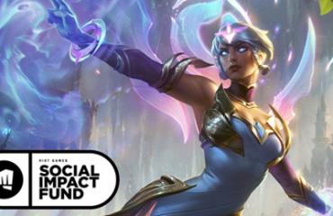 ilustração 3d de uma heroína do League of Legends