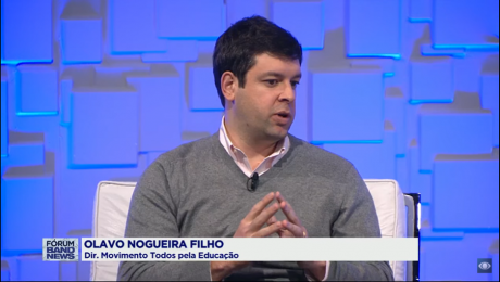 Olavo Nogueira Filho, diretor do Todos pela Educação, na Band News