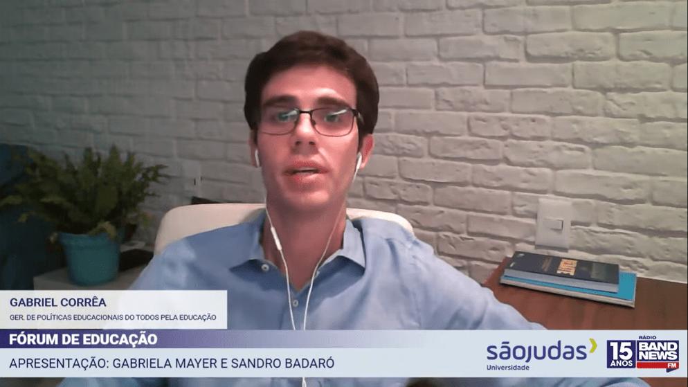 Gabriel Corrêa, gerente de políticas educacionais do Todos Pela Educação