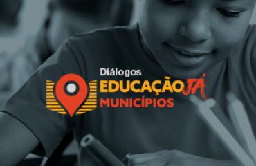 banner diálogos educação já municípios
