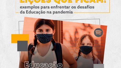 duas crianças com mascara