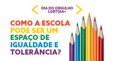 Dia do Orgulho LGBTQIA+. Como a escola pode ser um espaço de igualdade e tolerância? Foto de 6 lápis de diferentes cores e tamanhos.