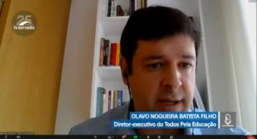 Print de videoconferência, na tela, Olavo Nogueira Filho está falando.