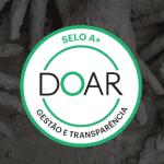 selo doar de gestão e transparencia