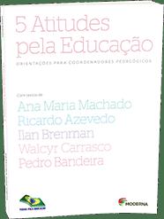 Capa do livro 5 atitudes pela educação