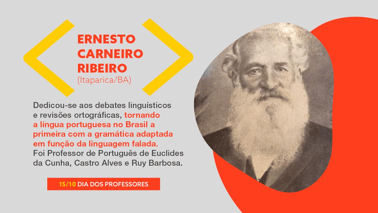 Foto Ernesto Carneiro Ribeiro. Mais texto explicativo. Clique no banner.